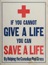 Red Cross Poster from WWI