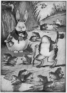 Peter Rabbit and Old Mr. Toad, illustrated by Harrison Cady