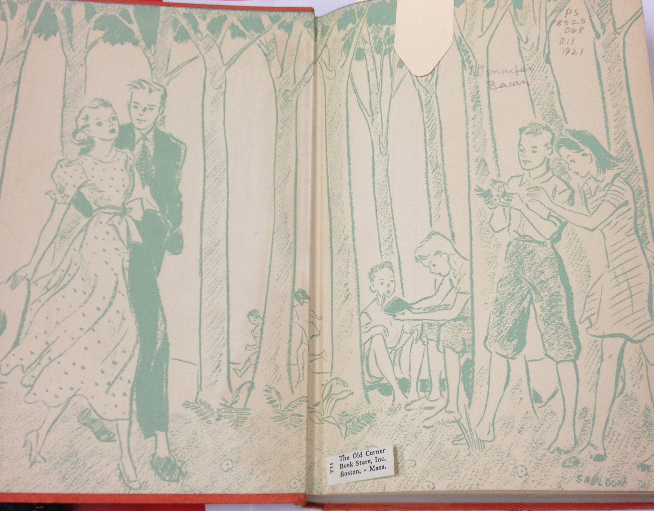 Rilla of Ingleside Front Endpapers