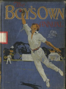 The Boy's Own Annual, volume 37 front cover. Boy's Own Paper 1915