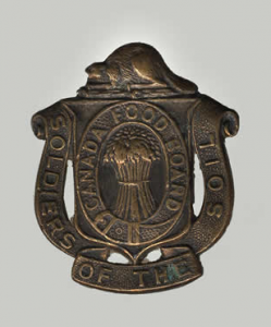 Soldiers of the Soil Badge