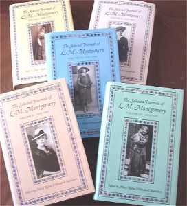 Montgomery's Published Journals