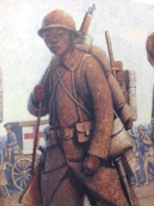 Debons Representation of an African Soldier