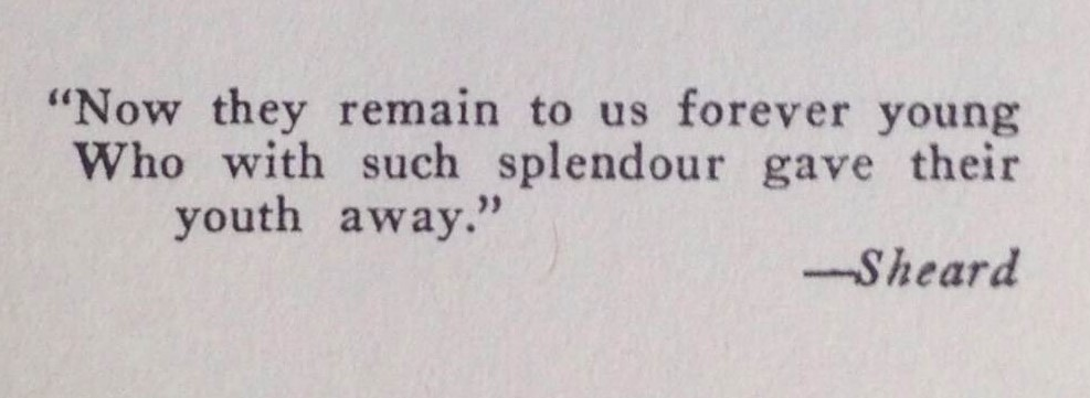 Epigraph in Rilla of Ingleside