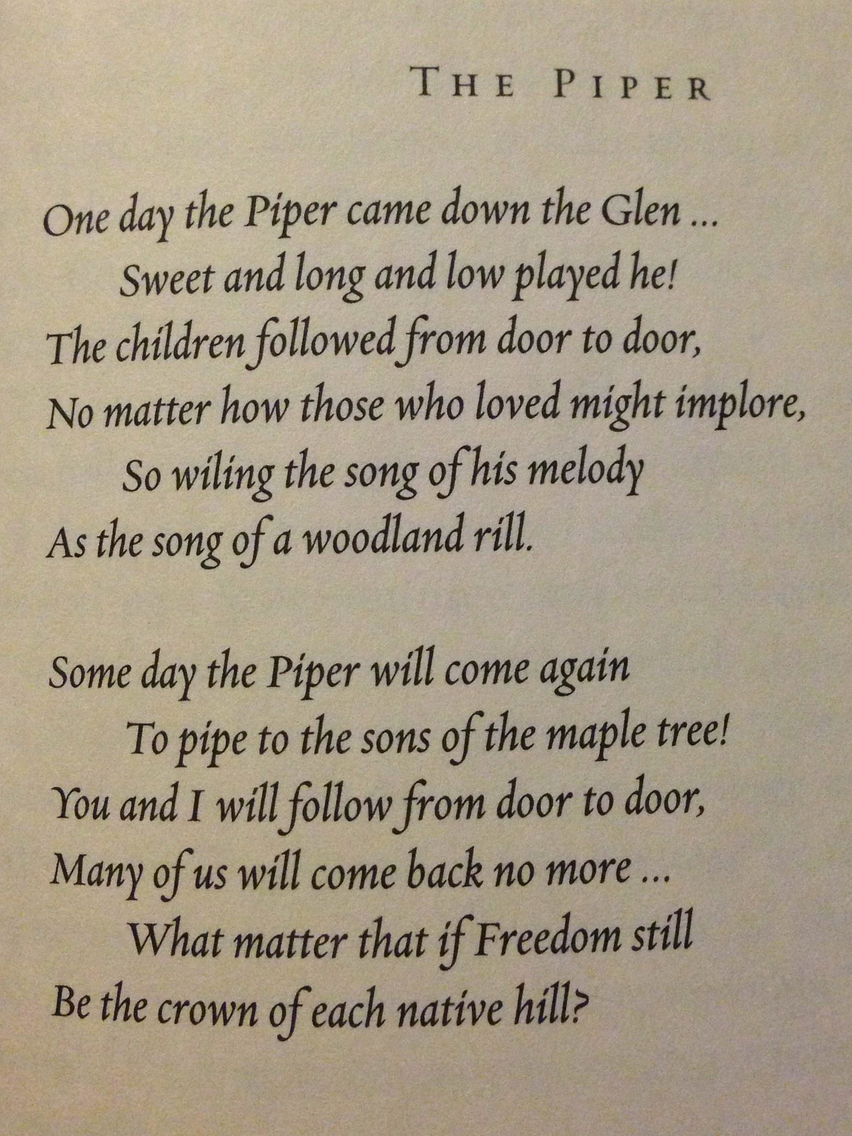 The Piper by Walter Blythe (Montgomery)