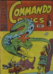 Commando Comics, no. 20, Jan. 1943, pp. 1-36. Canadian Whites Comic Book Collection, 1941-1946. RULA Archives and Special Collections, Ryerson University, Toronto, Canada.