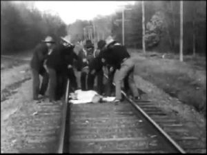 """The Train Wreckers (1905) - Edwin S. Porter 